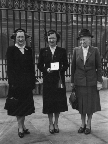 Ms Jacob Smith remained in the post from 1939 until the WLA was disbanded in 1950. She received an OBE for her services