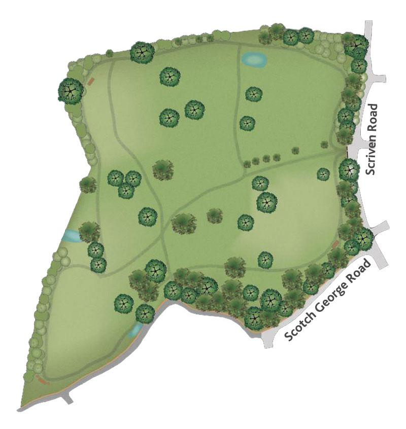 JSP green map